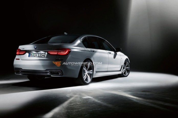 BMW 7-Series 2016 leaked photos (2)