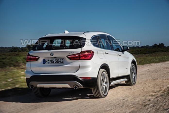 BMW X1 2016 leaked photos (6)