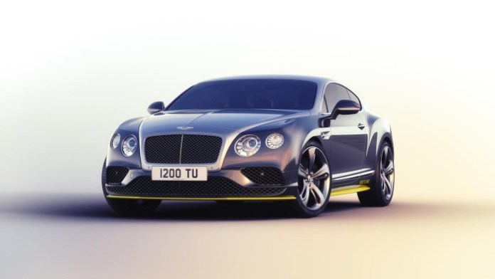 Bentley Continental GT Speed Breitling Jet Team Series 1