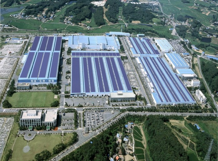 Hyundai_Photovoltaic.plant_.at_.Asan_