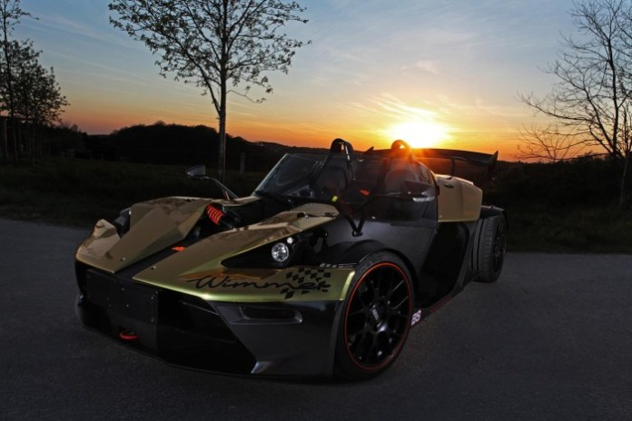 KTM X-BOW GT Dubai Gold Edition by Wimmer 1