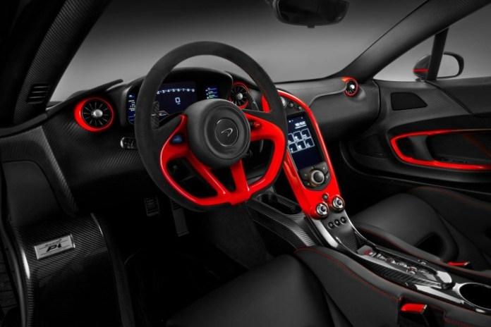 Matte Black and Red McLaren P1 MSO (4)