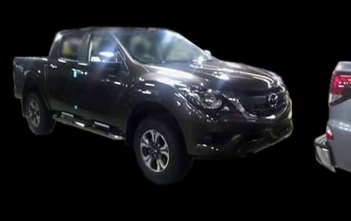 Mazda BT-50 facelift leaked photos (2)