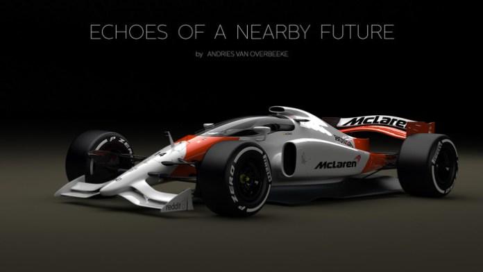 McLaren-Honda Formula 1 Concept with closed cockpit (1)