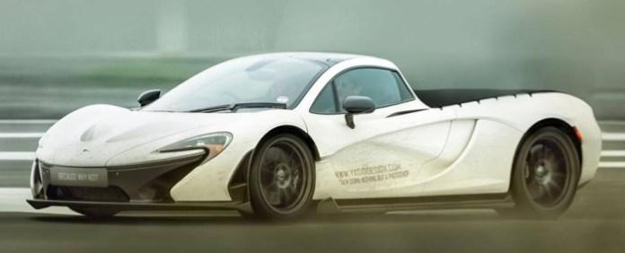 McLaren P1 and Bugatti Veyron Pickups (2)