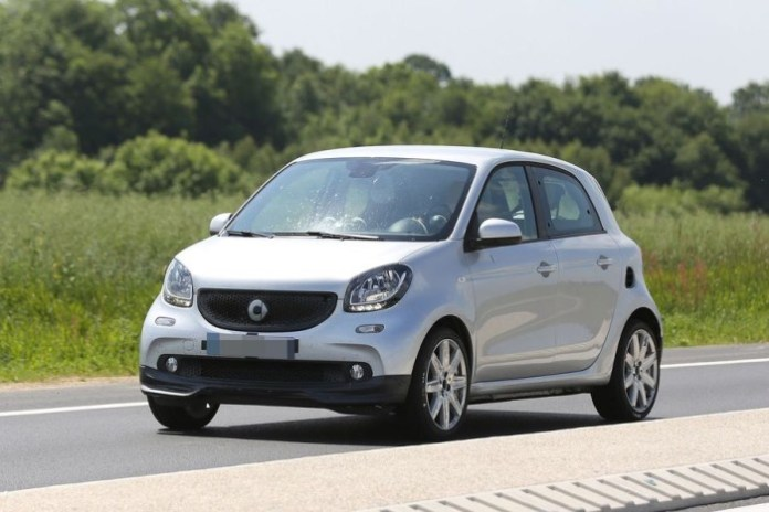 Smart ForFour by Brabus Spy Photos (2)