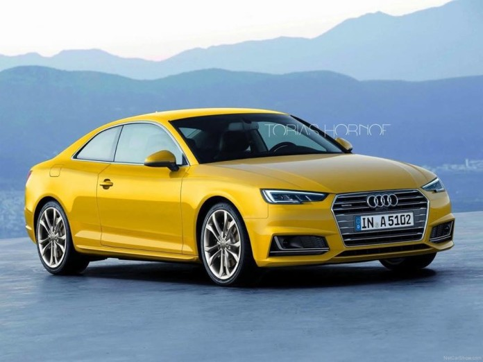 2017 Audi A5 Coupe render (2)
