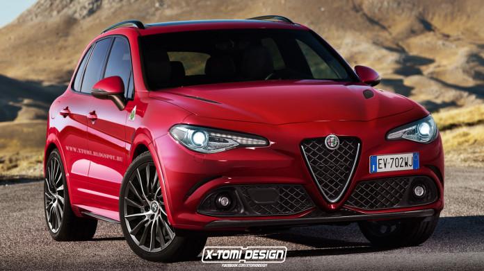 Alfa Romeo SUV Renderings (2)