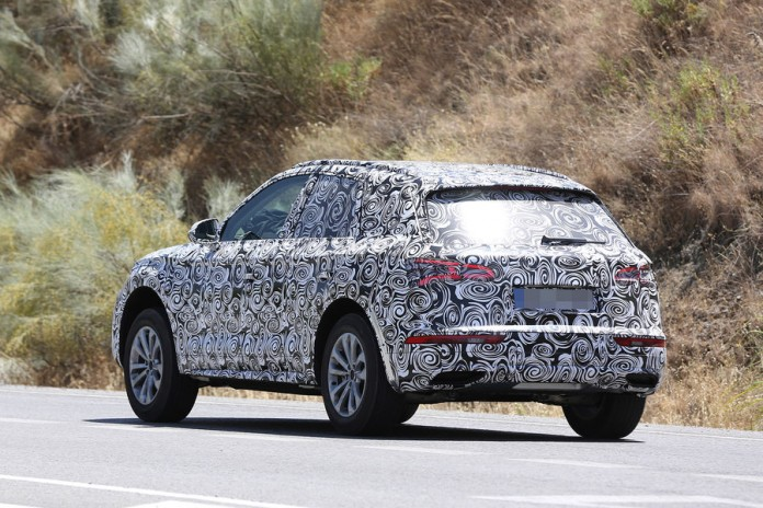 Audi Q5 2017 spy photos (7)