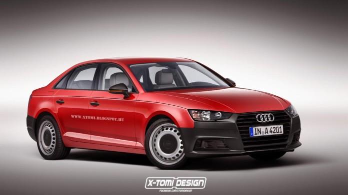 Entry-level Audi A4