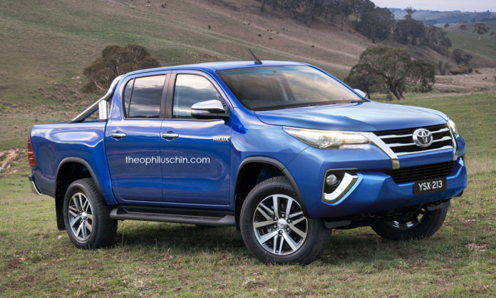 Toyota Fortuner and Hilux FaceOff (1)