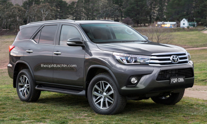 Toyota Fortuner and Hilux FaceOff (2)