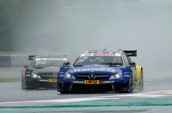 #2 Gary Paffett, Mercedes-AMG C 63 DTM, #94 Pascal Wehrlein, Mercedes-AMG C 63 DTM