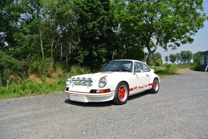 1973 Porsche 911 2.7 RS - One of the first 500 examples for FIA_Coys Nurburgring