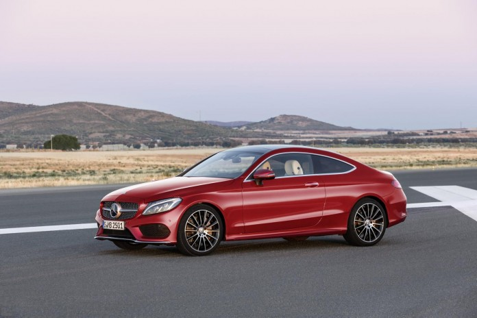 2016 Mercedes-Benz C-Class Coupe 1
