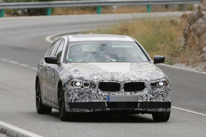 BMW 5-Series 2016 spy photos (3)