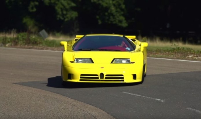 Bugatti EB110 SS - Chris Harris on Cars
