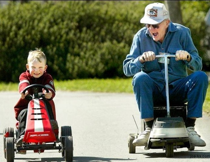 Racing-Grandpa