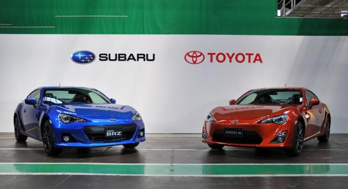 Toyota GT86 Subaru BRZ