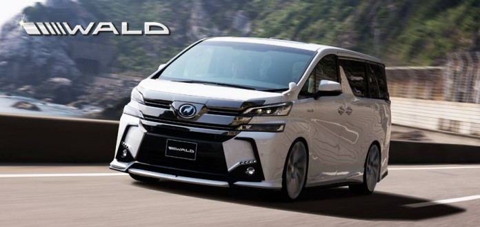 Toyota Vellfire by Wald International (10)