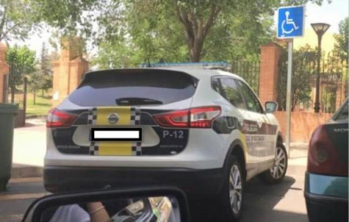 police car spain