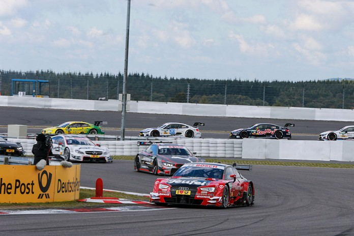 Motorsports: DTM race Nuerburgring, #17 Miguel Molina (ESP, Audi Sport Team Abt Sportsline, Audi RS5 DTM)