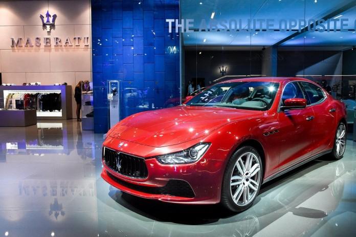 2016 Maserati Ghibli & Quattroport live in Frankfurt 3
