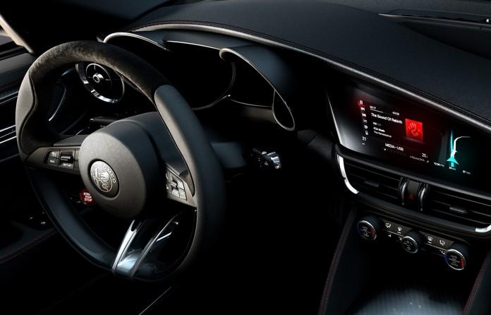 Alfa Romeo Giulia Design photos