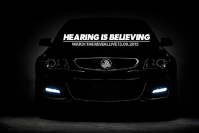 Holden Commodore VFII teased (1)