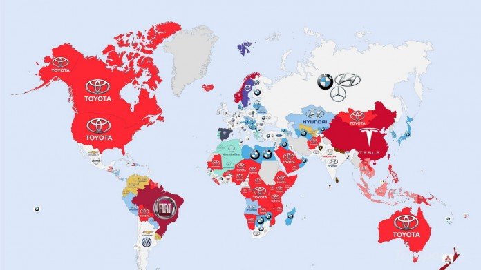 Infographic The World's Most Searched Car Brands (1)