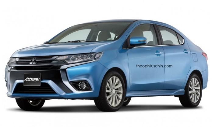 Mitsubishi Attrage Facelift