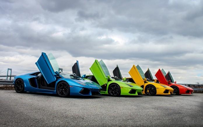 Aventador colors
