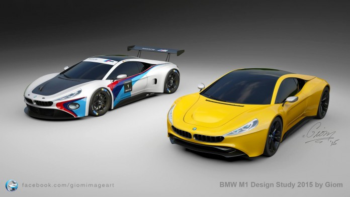 BMW M1 successor rendering (10)