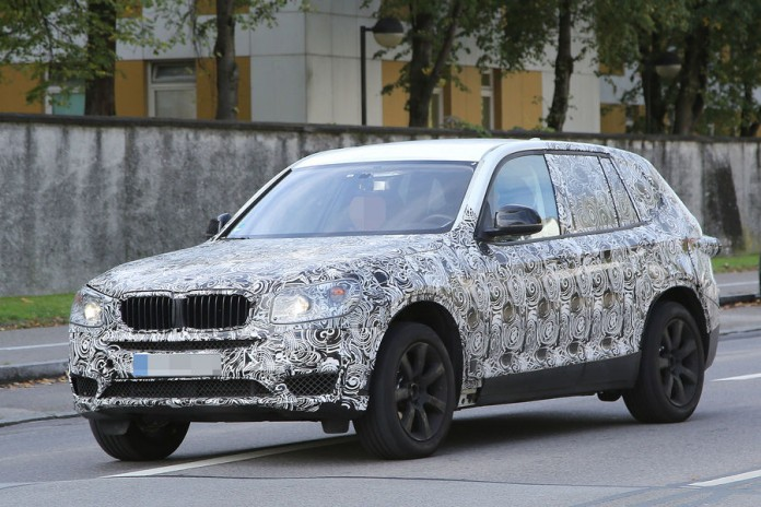 BMW X3 2016 spy photos (2)