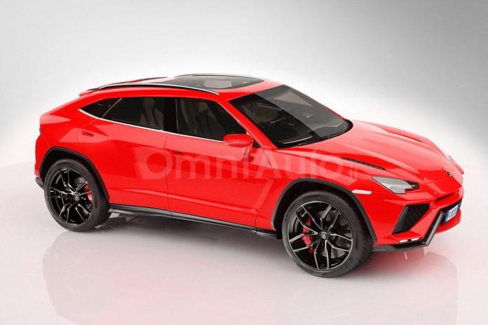 Lamborghini Urus 2018 renderings (1)