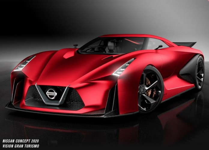 Nissan Concept 2020 Vision Gran Turismo for Tokyo
