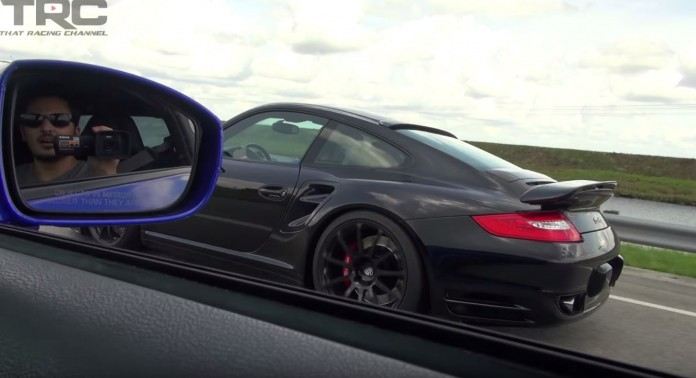 Porsche Vs GT-R Vs ZX-10R