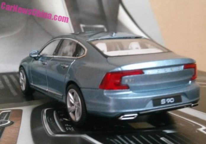 Volvo S90 scale model (5)