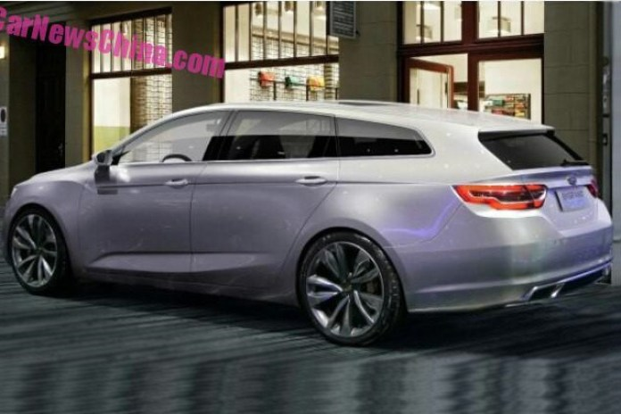 Geely station wagon concept