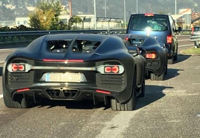 2015 Bugatti Chiron Prototypes