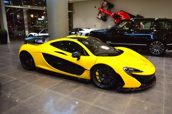2015 McLaren P1 Yellow For Sale Saudi Arabia 1