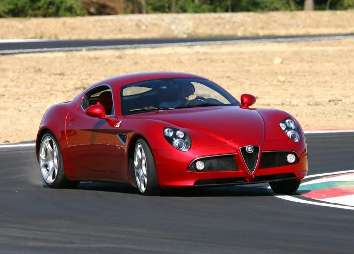 Alfa Romeo 8C Competizione 2