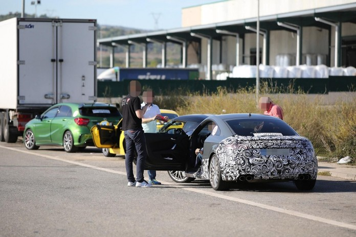 Audi TT RS 2016 spy photos (2)