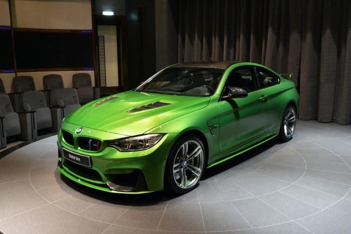 BMW M4 Individual Java Green (7)