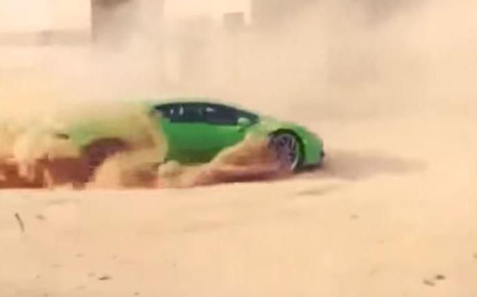 Huracan sand