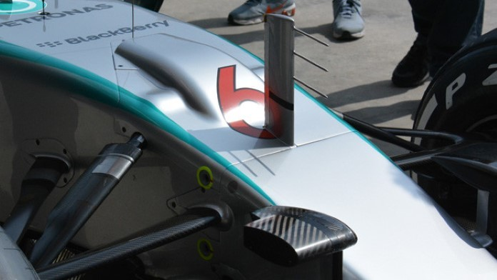 Mercedes S-Duct