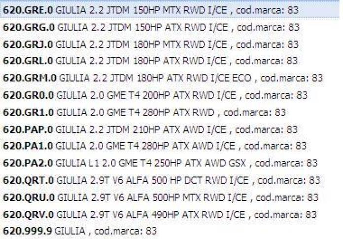 alfa romeo giulia engines