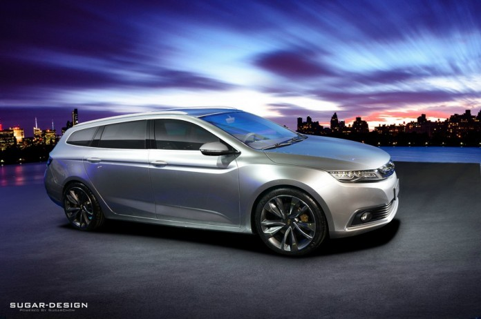 geely shooting brake concept 1