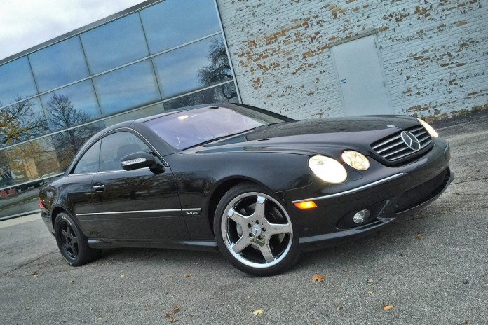 tuned Mercedes CL 1