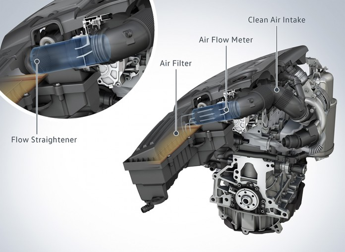 vw 1.6 TDI engine EA 189 flow straightener
